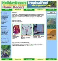 TropicalFEEL.com Site